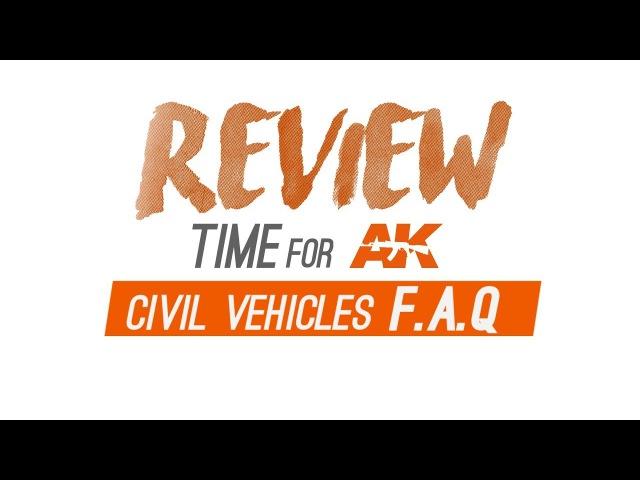 AK Reviews    Book - Civil Vehicles Modelling F.A.Q