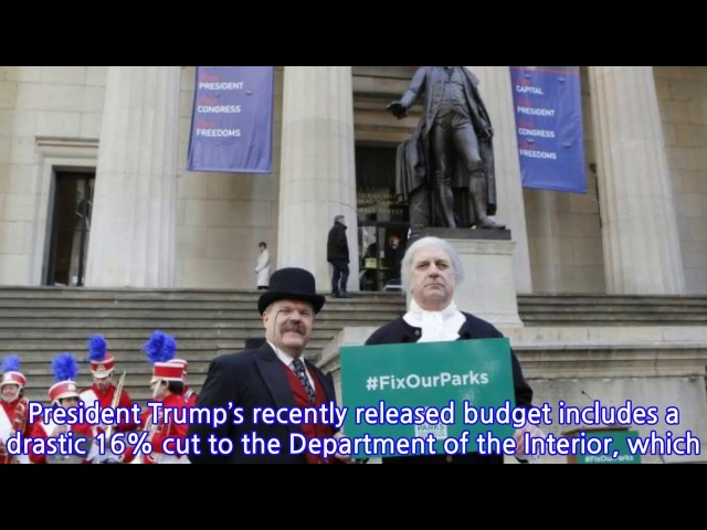 NYC Presidents Day rally call on pols to fund repairs at parks