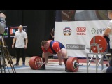 Konovalov Andrey deadlift 390kg@120+kg. NEW RECORD OF RUSSIA