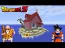 Minecraft Tutorial How To Make Kame House Dragonball Z House