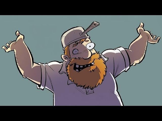 Сумасшедший Дядя против Зомби / Crazy Uncle vs. Zombies (игра платформер)