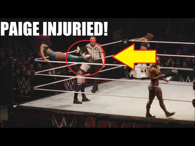 PAIGE INJURED AT WWE LIVE EVENT THE MOVE THAT ENDED HER CAREER Video