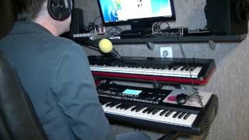 Весна пришла кавер-версия на синтезаторе KORG PA-300