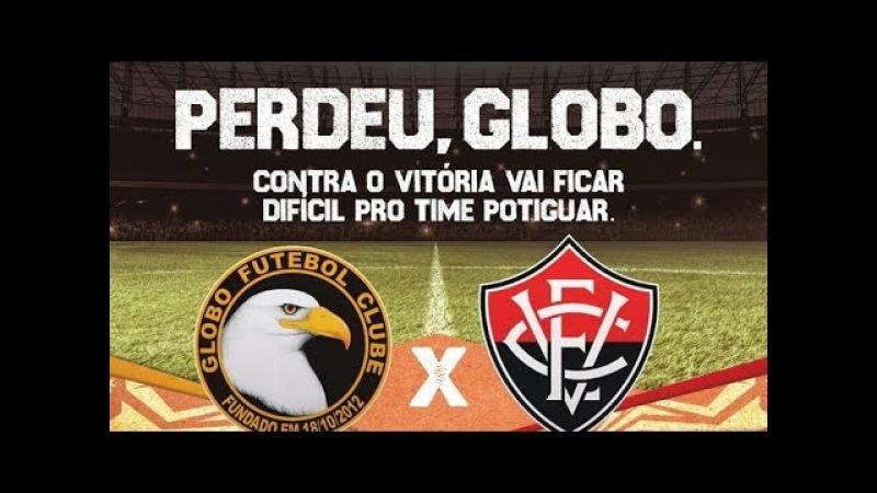 """""""Perdeu, Globo!"""" – SBT usa jogo do Vitória para provocar a Rede Globo"""