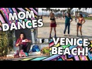 ROLLER SKATE DANCE WITH MY MOM AT VENICE BEACH - Ep 19 Planet Roller Skate
