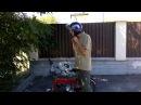 МИРа: Мопед дырчик ММВЗ 1.101 Минск-Кроха (Двигатель д8) после реставрации (обзор те