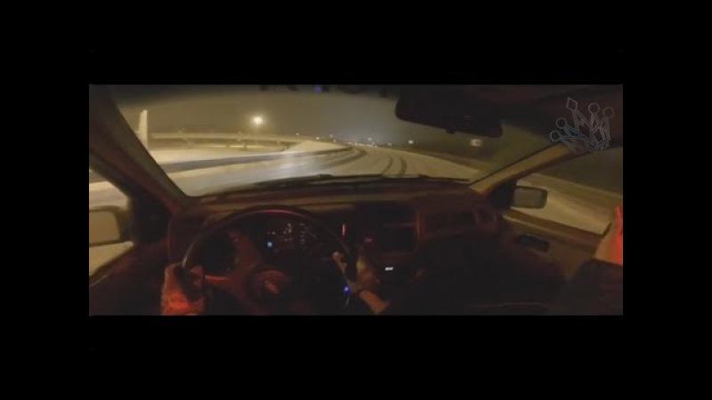 Зимний дрифт на бешеной скорости Speed drifting