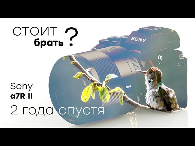 Обзор полнокадровой беззеркальной фотокамеры Sony α7R II