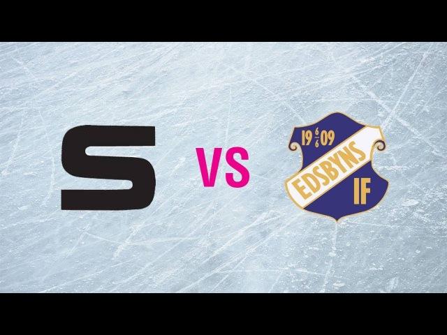 Sandvikens AIK - Edsbyns IF. Чемпионат Швеции. 12.01.2018