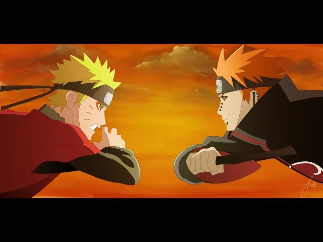 AMV Naruto Vs Pain - You're Going Down