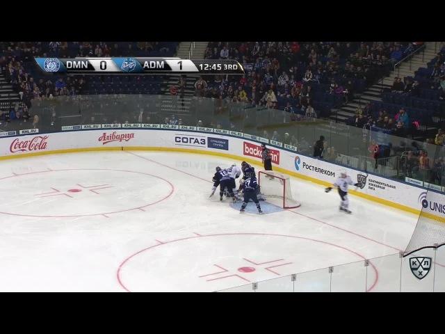Моменты из матчей КХЛ сезона 16/17 • Гол. 0:2. Александр Горшков (Адмирал) удвоил преимущество хабаровчан 08.11