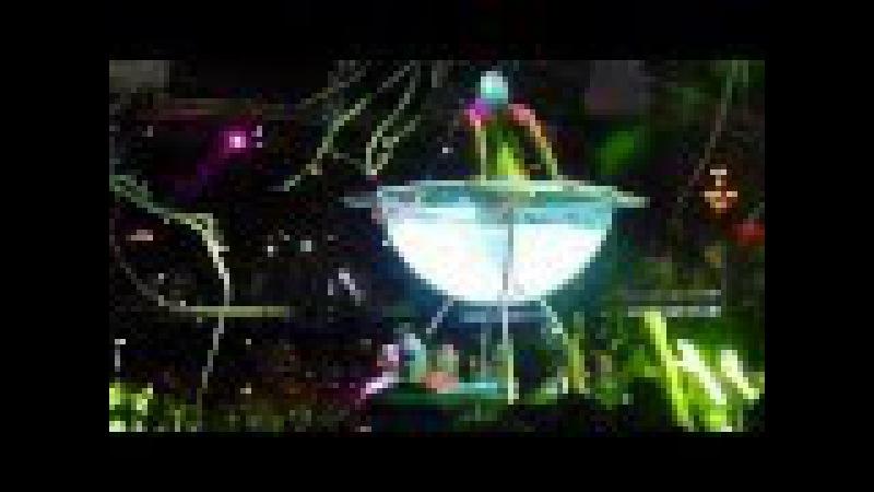 Glass bowl dancer at Privilege Ibiza - SuperMartXe