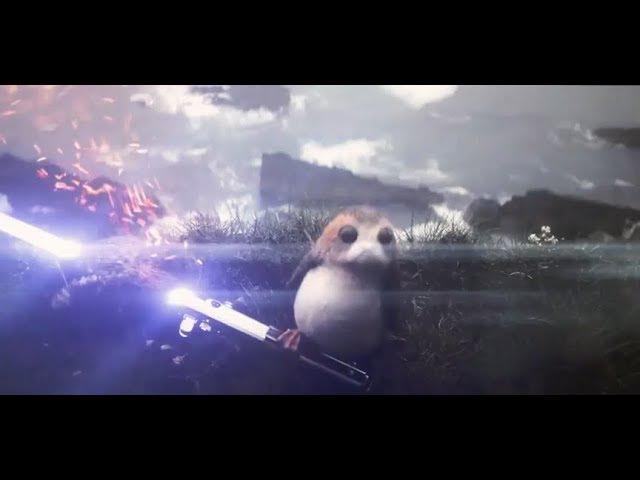 Porgs and Lightsaber Leaked Deleted Scene Star Wars Episode VIII The Last Jedi