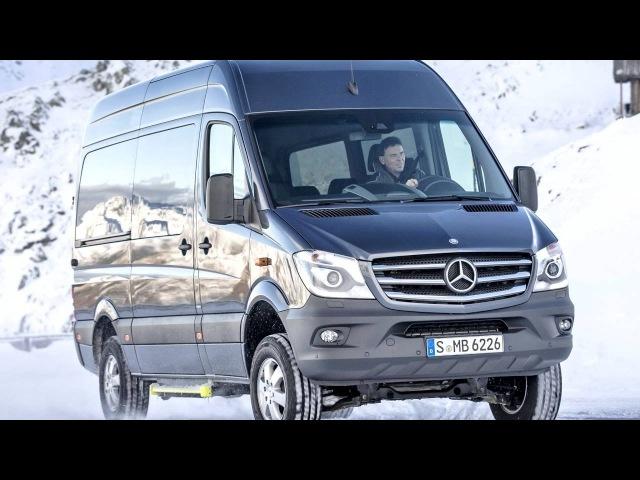 Mercedes Benz Sprinter 316 Bluetec 4x4 LH2 Br 906 2013–