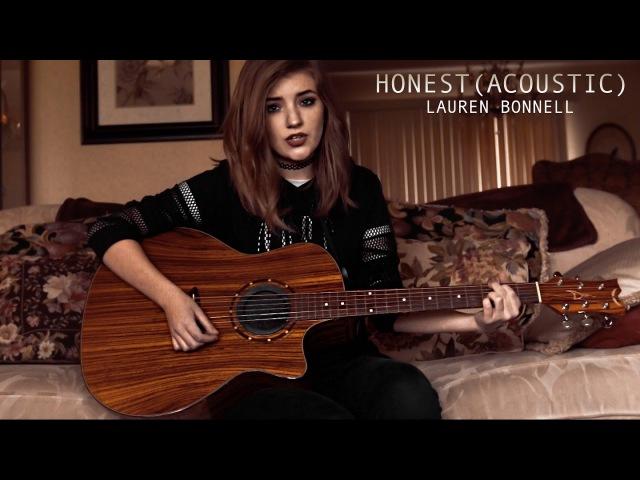 HONEST (Acoustic) - Lauren Bonnell (Official Audio)