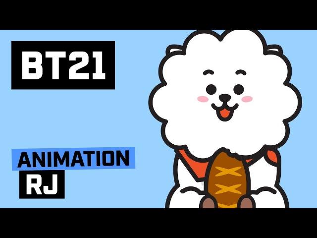 BT21 Hi~ I am RJ