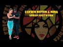 Lucien Noten Nina Shevchenko KizzFuzz Urban Footwork class Mama Africa Festival 2018