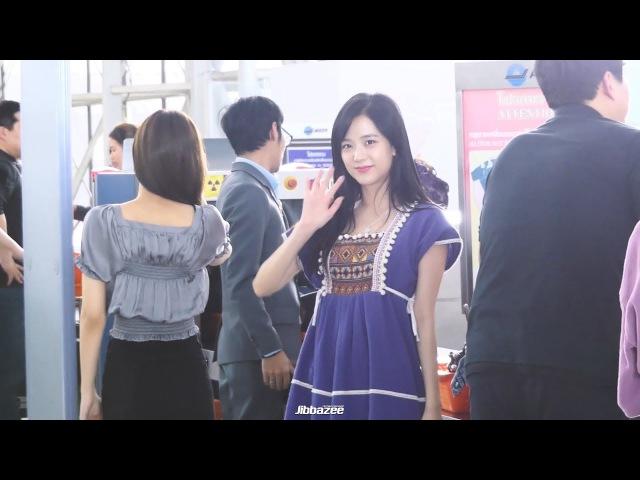 171127 BlackPink - Jisoo Jennie at Suvarnabhumi Airport Bangkok Thailand