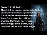 Asap Rocky - The Bible or the rifle. Goodnight, folks.