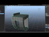 Tutorial Recreating Pixar's Wall-e in High Poly using Maya 2012 Part 2-3