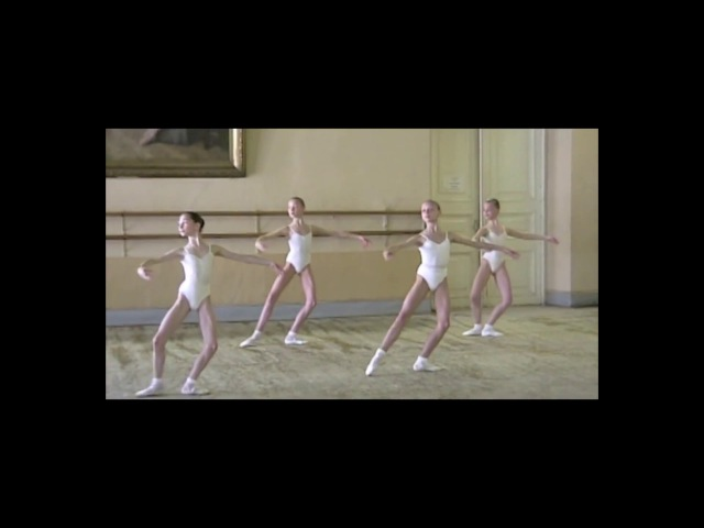 Vaganova Ballet Academy - Girls - 2 nd year - filmed in 2000