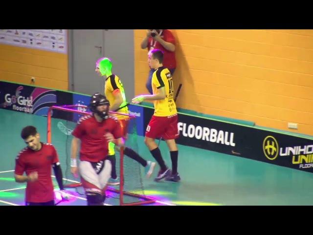 EFC 2017 Highlights Betsafe Ulbroka Phoenix Fireball SE флорбол фс2017 ффс floorball iff