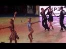 Danila Boriskin Elizaveta Ulianova Cha Cha WDSF Junior 2 ROC 2017