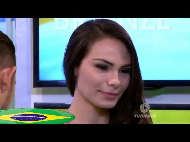 Rayssa Teixeira Melo Modelo Brasileña Abandona Programa Tv Al Ser Tocada Brazilian Model Prank