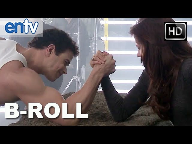 Twilight Breaking Dawn Part 2 B-Roll Clip [HD]: Behind The Scenes With Edward Bella!