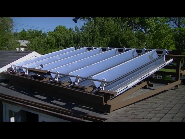 Solar Parabolic Reflector Collector Pool Water Heater