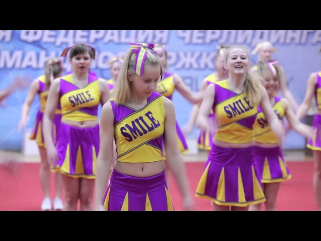 Smile cheer team 21 02 2016 студенческая и школьная лига по черлидингу РБ