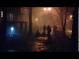 Бомжи загорелись, пожар в подвале. Харьков 03.12.2017
