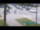 ЭКСКЛЮЗИВ в сети появилось видео с веб-камеры ОПАСНОГО ДТП в Кингисеппе. KINGISEPP