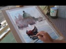 Marco Catone: Venice watercolor paint demonstration