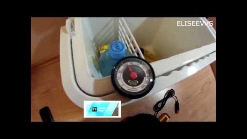 обзор и тест автохолодильника мистери МТС 24