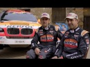 See Isidre Esteve and Txema Villalobos working as a team at the Dakar (1st part)