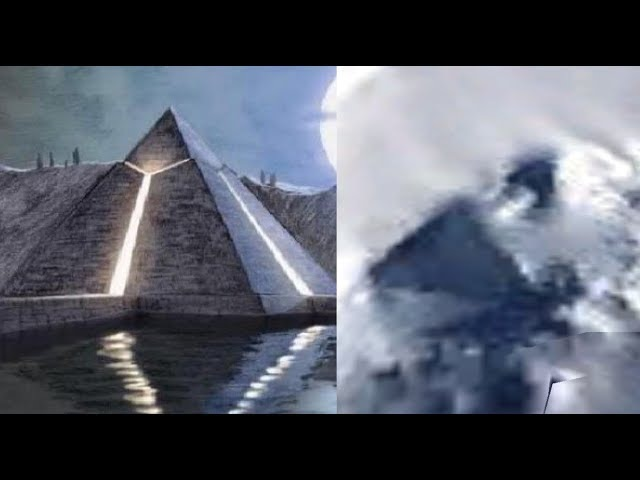 New Giant 1500 Foot Pyramid found in the Antarctica with Google Earth