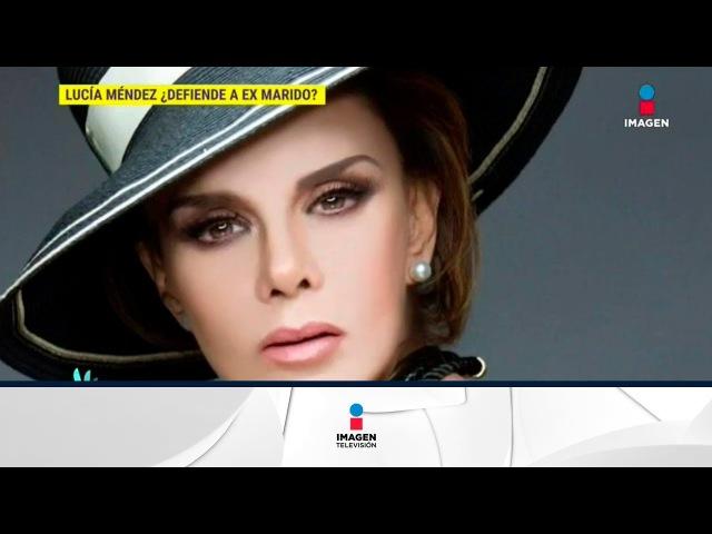 Lucía Méndez defiende con todo a su ex esposo, Pedro Torres | De Primera Mano