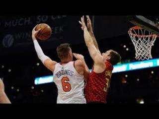 New York Knicks vs Atlanta Hawks - Full Game Highlights   November 24, 2017   NBA Season 2017-18