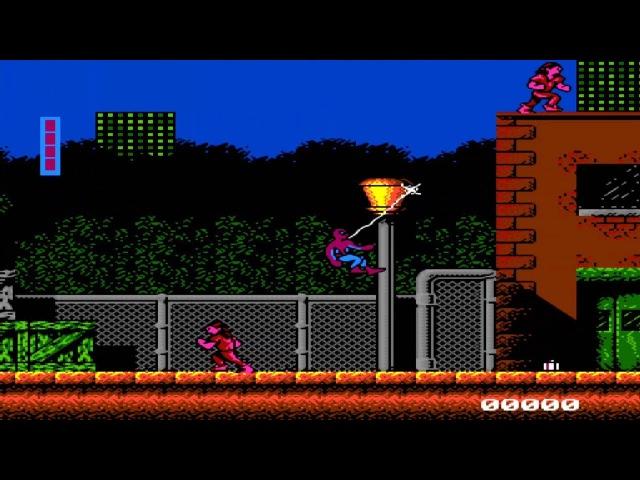 Spider Man NES - Прохождение (Человек Паук Dendy, Денди - Walkthrough)