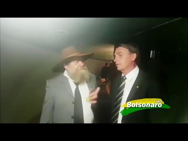 PRODUTOR RURAL Nelson Barbudo Realiza Sonho de Conhecer Jair Bolsonaro!!