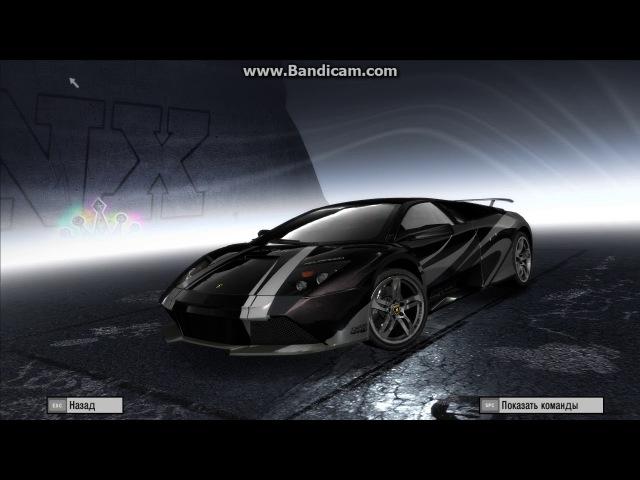 Настройка для скоростных гонок Lamborghini Murcielago