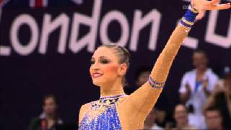 ОИ2012 Евгения Канаева(обруч)