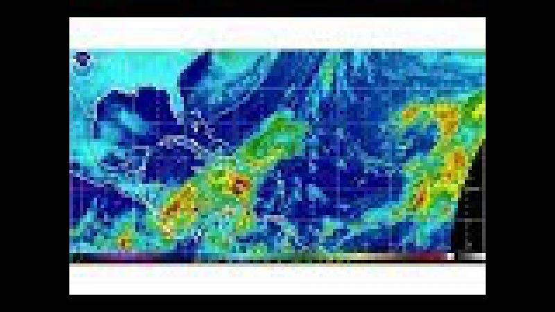 El caribe centroamericano y el Golfo de México estan siendo afectados por sistema de baja presion