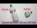 Convert old broken CFL into LED Bulb Convert Broken CFL into Bright Fluorescent Tube Light DIY
