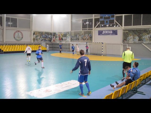 Ветра-08 6-11 GS Warriors. DKC чемпионат по мини-футболу 20172018. 10-й тур (21.01.2018)