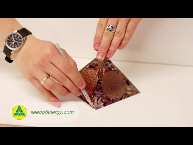 What to do after receiving Your Orgonite Pyramid Orgone Generator