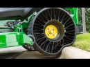 Cool Airless Tires MICHELIN for Loaders in action Comparison test
