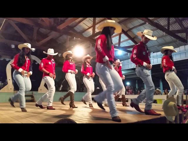 Apresentação de Dança Country Sertaneja (Comitiva Te Pego no Laço- AM)
