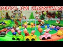 Peppa Pig Episodes - Peppa Pig Christmas Present Happy Family and Friends in Toy City - VOVA Toys